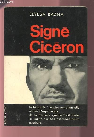 SIGNE CICERON.