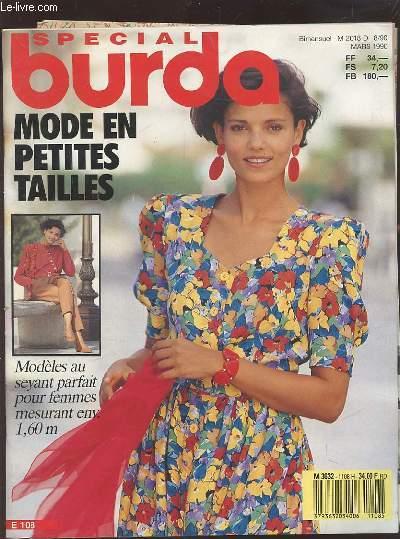MAGAZINE BURDA MODEN ESTIVALE DU MATIN AU SOIR MISS B  JUILLET 1989