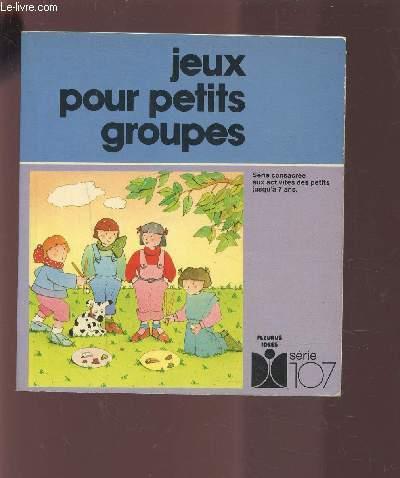 JEUX POUR PETITS GROUPES.