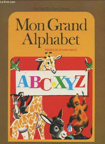 MON GRAND ALPHABET.