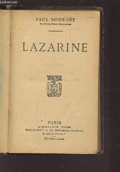 LAZARINE