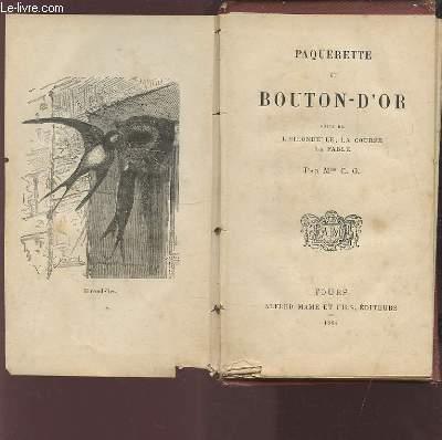 PAQUERETTE ET BOUTON-D'OR - SUIVI DE L'HIRONDELLE, LA COURSE, LA FABLE.