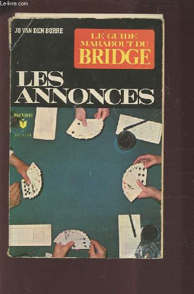 LES ANNONCES - LE GUIDE MARABOUT DU BRIDGE.
