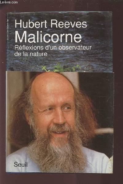 MALICORNE - REFLEXIONS D'UN OBSERVATEUR DE LA NATURE.