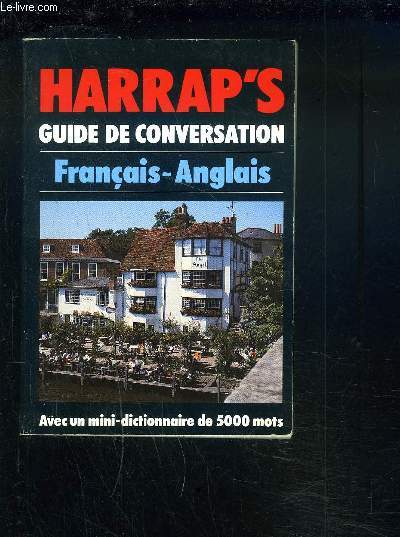 HARRAP'S - GUIDE DE CONVERSATION - FRANCIAIS / ANGLAIS.