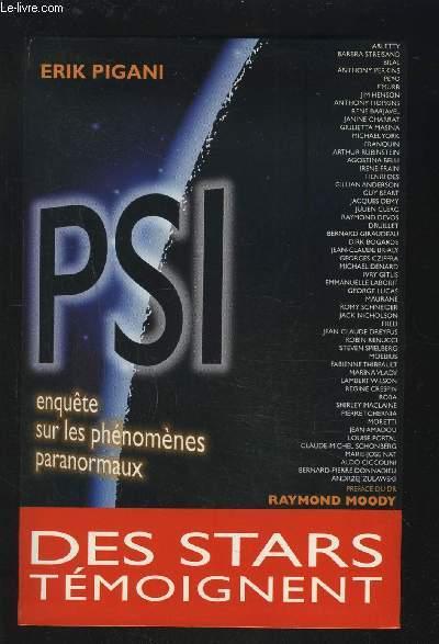 PSI - ENQUETE SUR LES PHENOMENES PARANORMAUX.