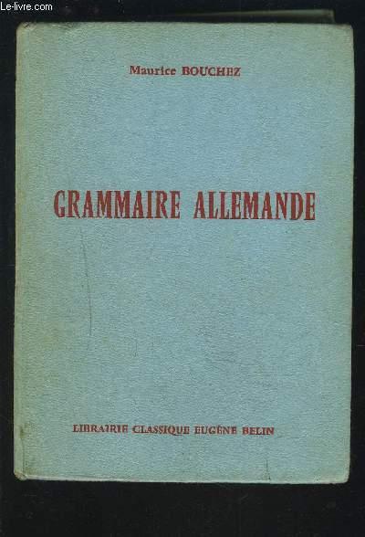GRAMMAIRE ALLEMANDE - NOUVELLE COMPOSITION EN CARACTERES LATINS.
