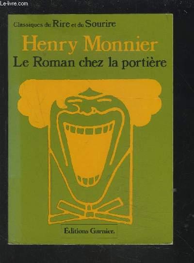 LE ROMAN CHEZ LA PORTIERE - SCENES POPULAIRES.