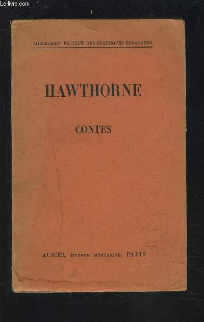 HAWTHORNE CONTES.