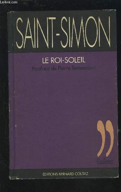 LE ROI SOLEIL.