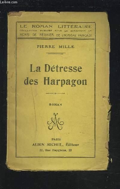 LA DETRESSE DES HARPAGON.
