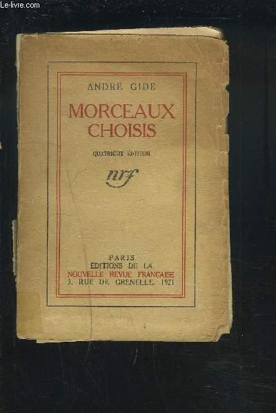 MORCEAUX CHOISIS.
