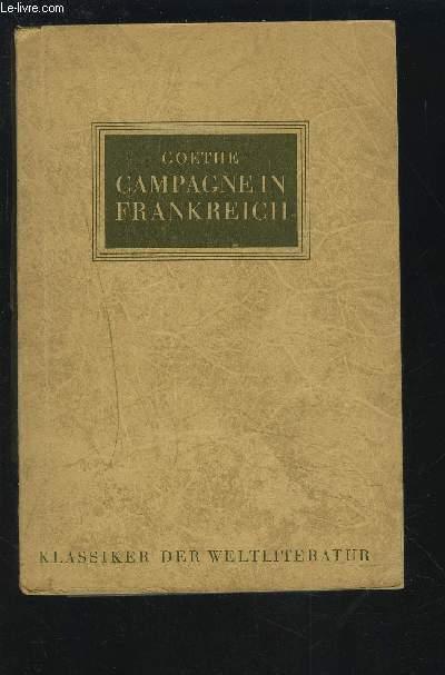 CAMPAGNE FRANKREICH.