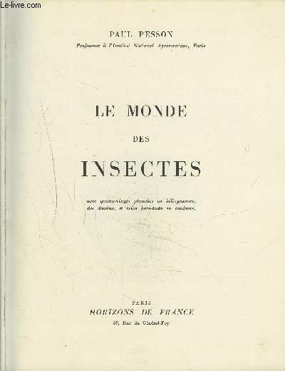 LE MONDE DES INSECTES.