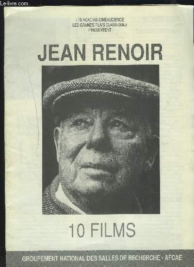 JEAN RENOIR - 10 FILMS.