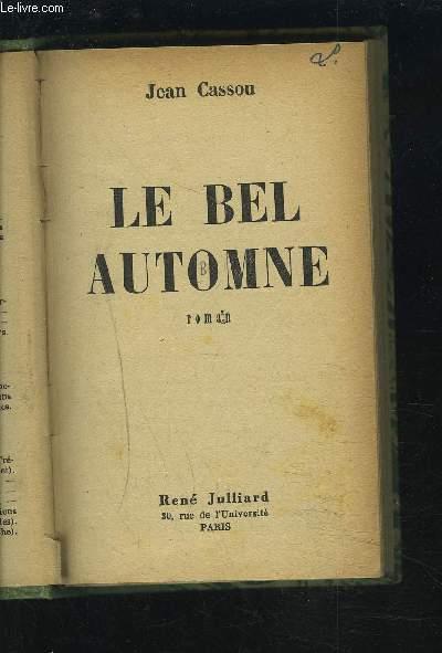 LE BEL AUTOMNE.