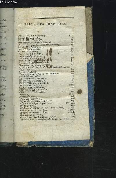 OUVRAGE DE GRAMMAIRE : LE SUBJONCTIF + L'ARTICLE + L'ADJECTIF + LE PRONOM + LE VERBE + LE PARTICIPE...ETC.