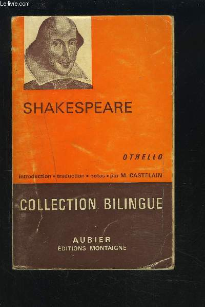 OTHELLO - TEXTE ANGLAIS/FRANCAIS.