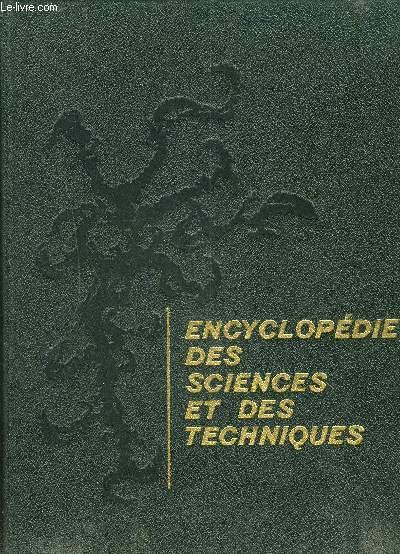ENCYCLOPEDIE DES SCIENCES ET DES TECHNIQUES - TOME 2.