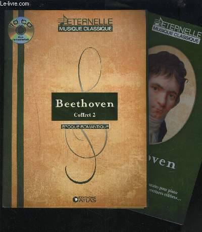 Beethoven coffret 2 de 10 cd + livret.