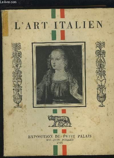 L'ART ITALIEN.