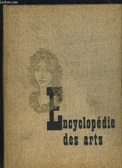 ENCYCLOPEDIE DES ARTS.