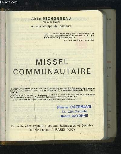 MISSEL COMMUNAUTAIRE.