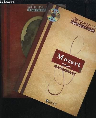 MOZZART COFFRET 2 - LIVRET + 10 CD.