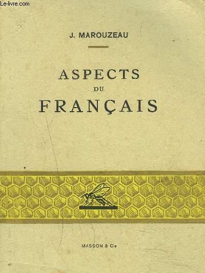 ASPECTS DU FRANCAIS