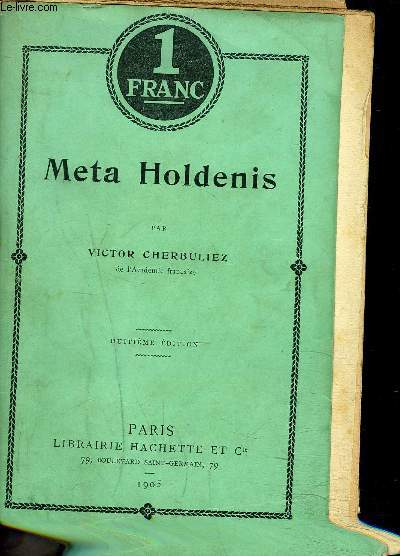 META HOLDENIS - 8EME EDITION - COLLECTION 1 FRANC
