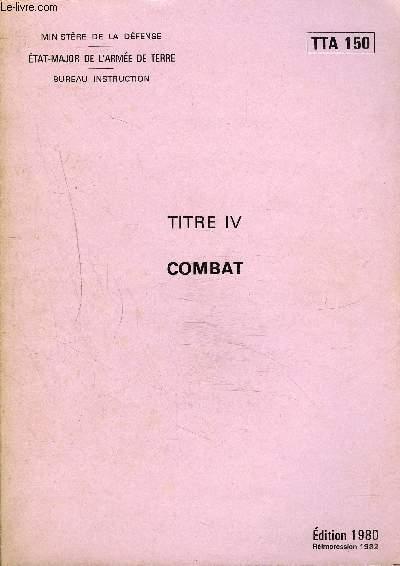 COMBAT - TTA 150.