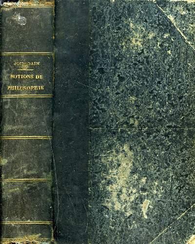 NOTIONS DE PHILOSOPHIE / 12E EDITION CONFORME AUX DERNIERS PROGRAMMES OFFICIELS.