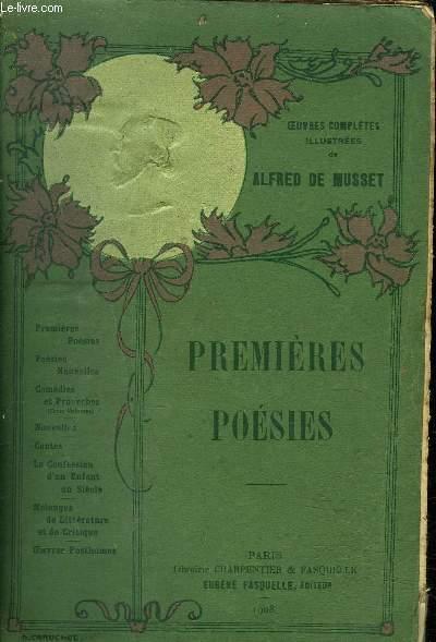 PREMIERES POESIES 1829-1835 - CONTES D'ESPAGNE ET D'ITALIE SPECTACLE DANS UN FATEUIL POESIES DIVERSES NAMOUNA.