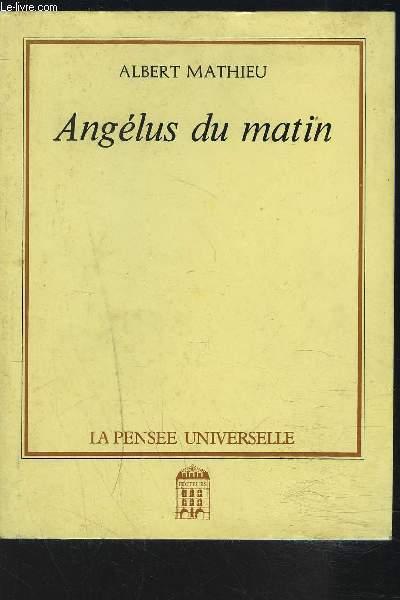 ANGELUS DU MATIN