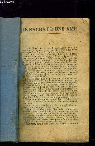 LE RACHAT DUNE AME