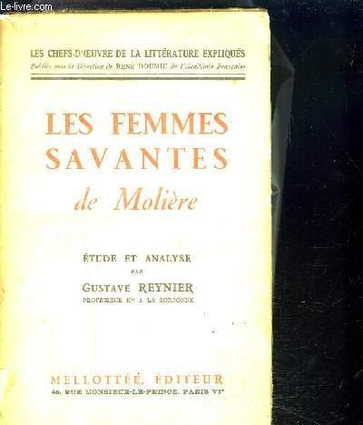 LES FEMMES SAVANTES