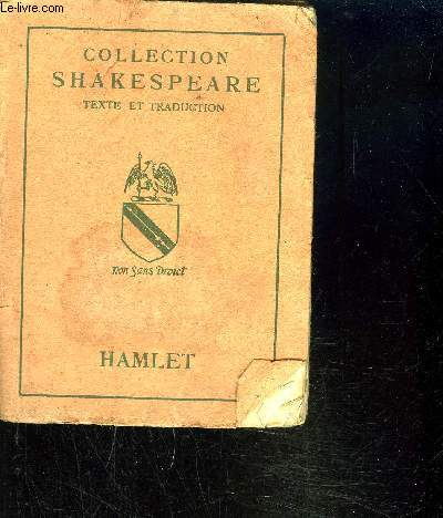 HAMLET / COLLECTION SHAKESPEARE