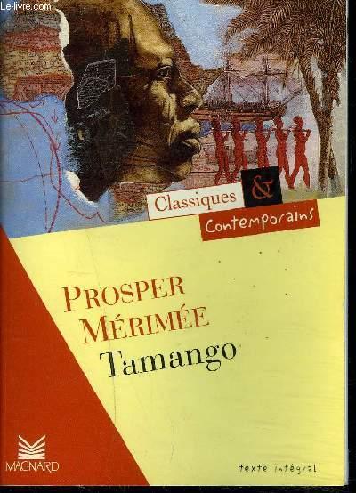 TAMANGO / COLLECTION CLASSIQUES ET CONTEMPORAINS n°21