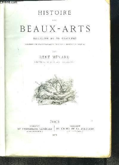 HISTOIRE DES BEAUX-ARTS