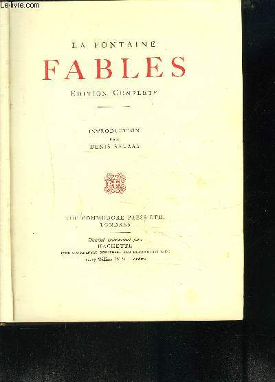 FABLES - EDITION COMPLETE