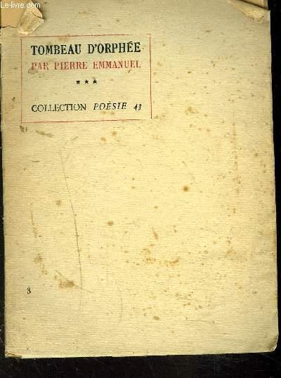 TOMBEAU D'ORPHEE