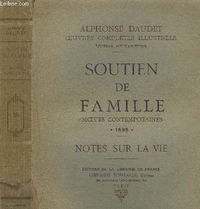 SOUTIEN DE FAMILLE - NOTE SUR LA VIE