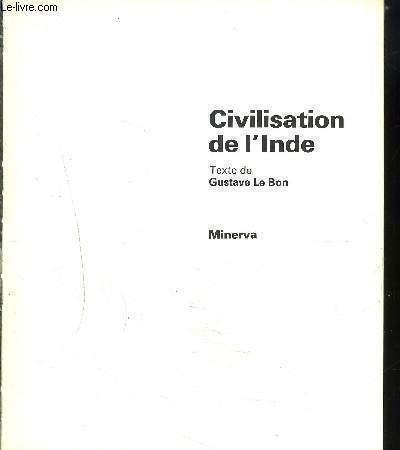 CIVILISATION DE L'INDE