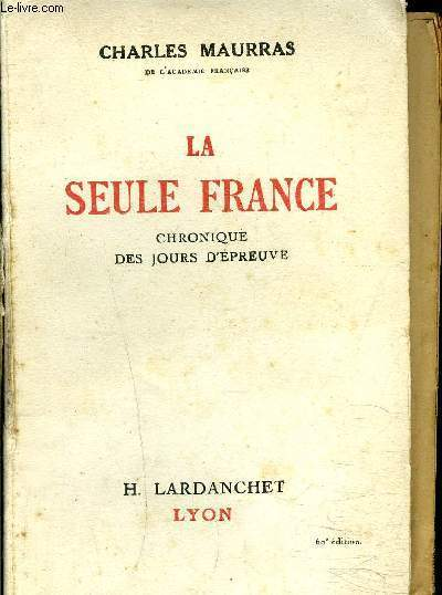 LA SEULE FRANCE