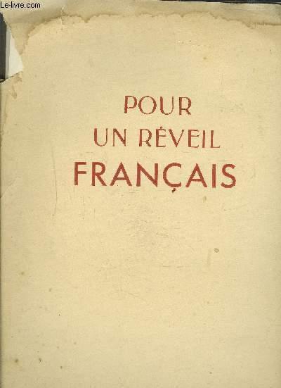 POUR UN REVEIL FRANCAIS