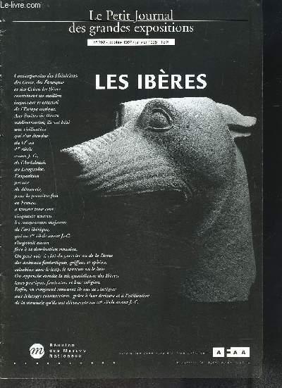 LE PETIT JOURNAL DES GRANDES EXPOSITIONS N° 292 OCTOBRE 97-JANVIER 98 / LES IBERES