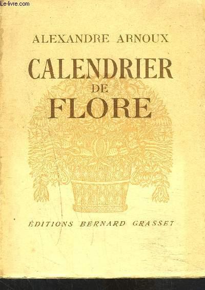 CALENDRIER DE FLORE