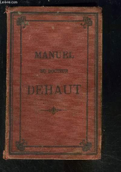 MANUEL DE MEDECINE, D HYGIENE, DE CHIRURGIE ET DE PHARMACIE DOMESTIQUES