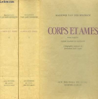 CORPS ET AMES- 2 TOMES EN 2 VOLUMES