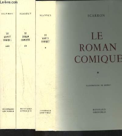 LE ROMAN COMIQUE- 3 TOMES EN 3 VOLUMES